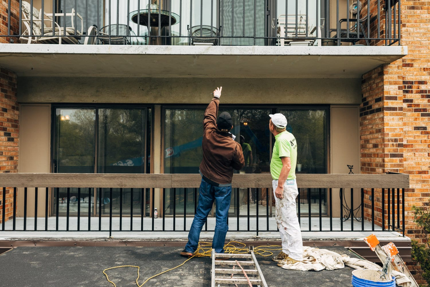 how to plan your building's exterior painting project