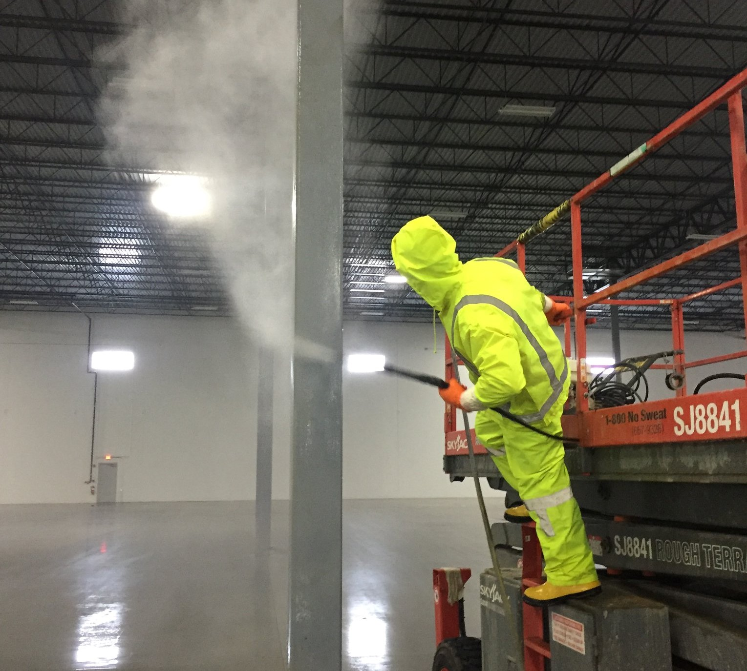 Maintain your commercial interior painting project so it will last.